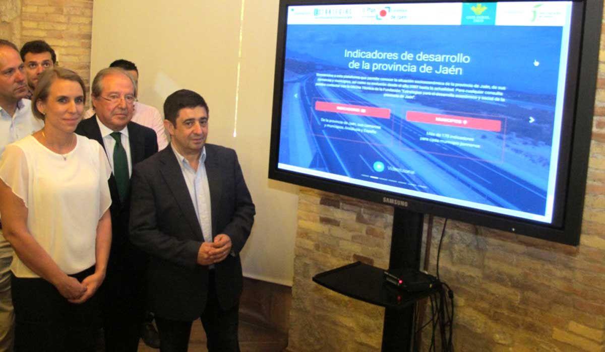 Un nuevo portal del Plan Estratégico recoge unos 160.000 datos para radiografiar la provincia y sus municipios
