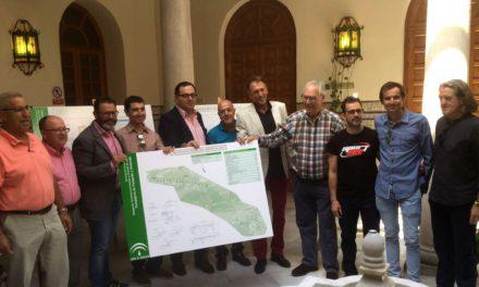 Fomento presenta a colectivos la primera fase de la vía ciclista urbana de Jaén que ya ha sido licitada por 822.000 euros