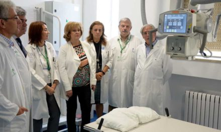 El Complejo Hospitalario de Jaén mejora sus pruebas diagnósticas con una nueva sala de radiología digital