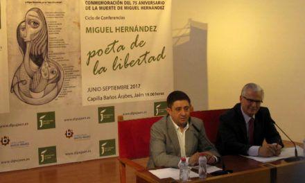 Baltasar Garzón abre el ciclo de conferencias dedicado a Miguel Hernández en el 75 aniversario de su muerte