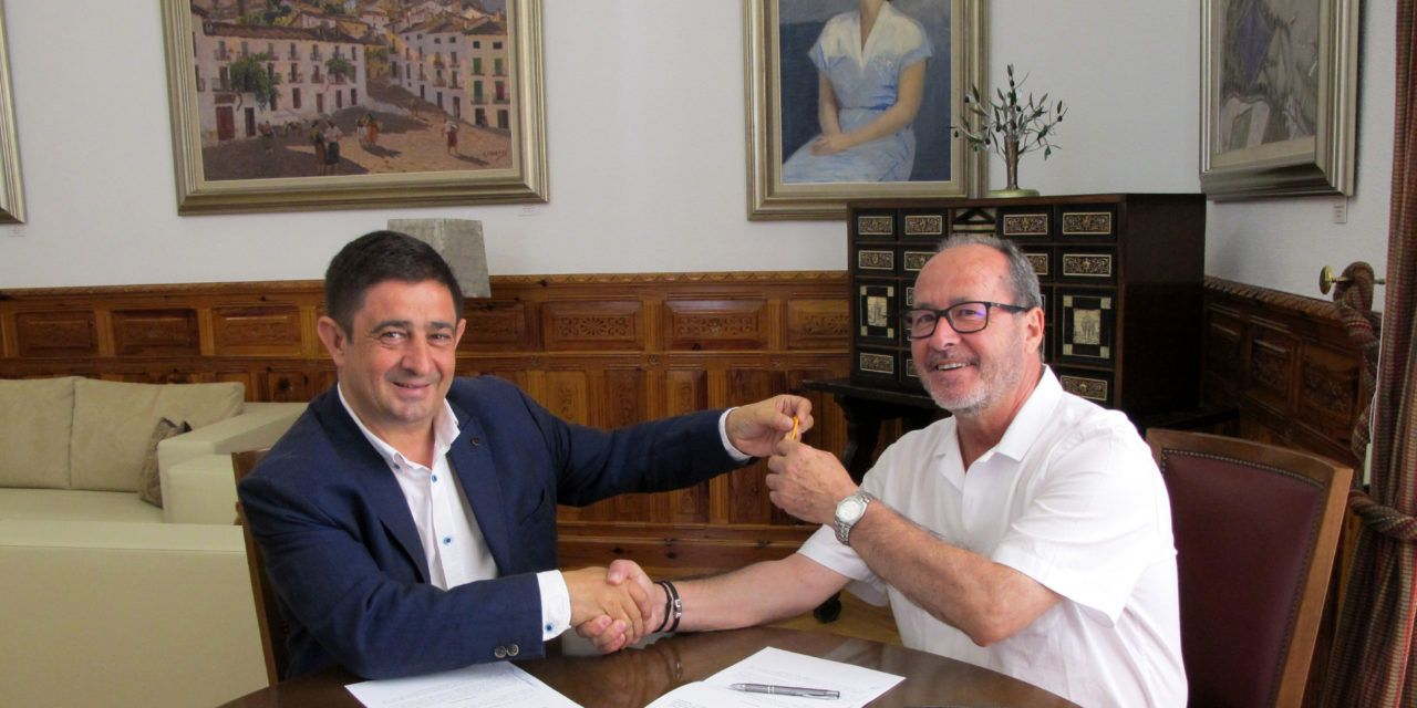 Diputación cede un local en la capital para que sea la sede de Mensajeros de la Paz en Jaén