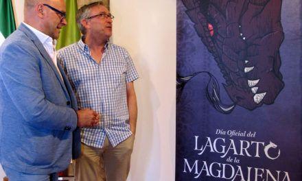 Iuventa y Diputación convierten la leyenda del Lagarto de la Magdalena en un reclamo turístico de Jaén