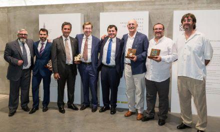 Dos artesanos jienenses reciben de manos del El Secretario de Estado de Fomento los Premios de las Artes de la Construcción