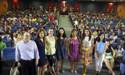 Más de 500 escolares de la zona de Jaén participan en la clausura del programa ´Andalucía Profundiza´