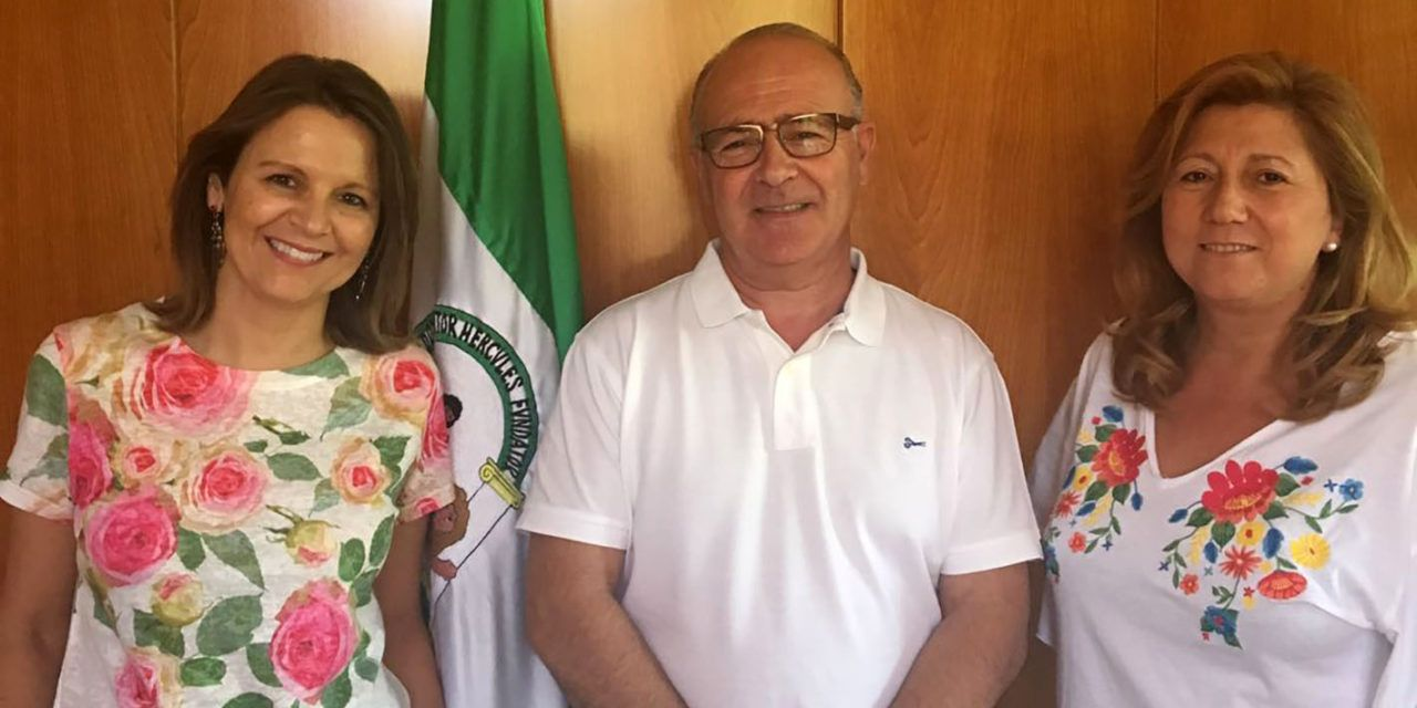 Ana Cobo se reúne con el presidente de Jaén Paraíso Interior FS