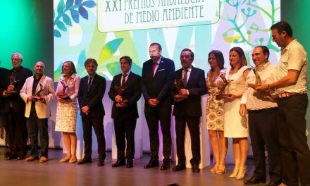 José Fiscal agradece a los galardonados con el Premio Andalucía de Medio Ambiente su compromiso con la defensa de la naturaleza