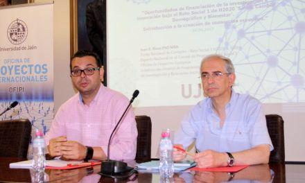 Los proyectos europeos basados en consorcios protagonizan una nueva jornada informativa para personal investigador en la Universidad de Jaén