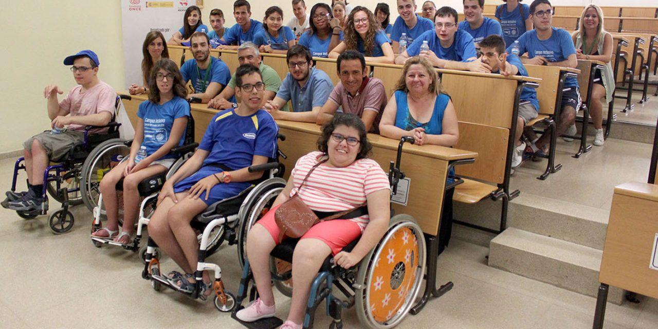 La Universidad de Jaén volverá a acoger este verano el programa 'Campus Inclusivo. Campus sin límites 2017'
