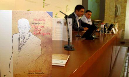 Entidades y colectivos vinculados a Vicente Oya programan una veintena de actividades para homenajearlo