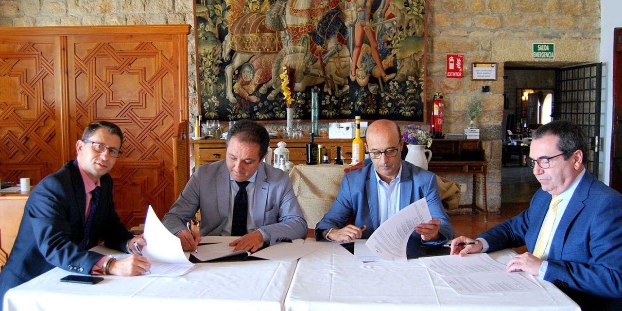 El Colegio de Abogados de Jaén y el Parador de Jaén renuevan su convenio de colaboración