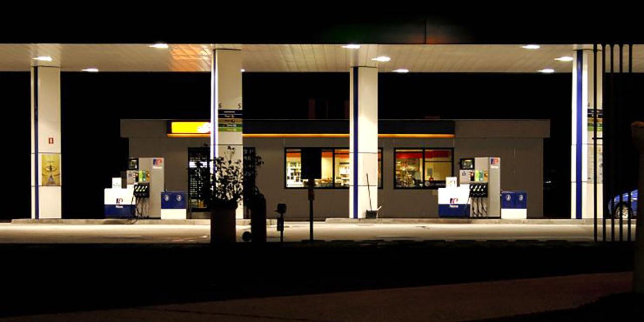 Actuación policial por un robo en la gasolinera 'La Imora'