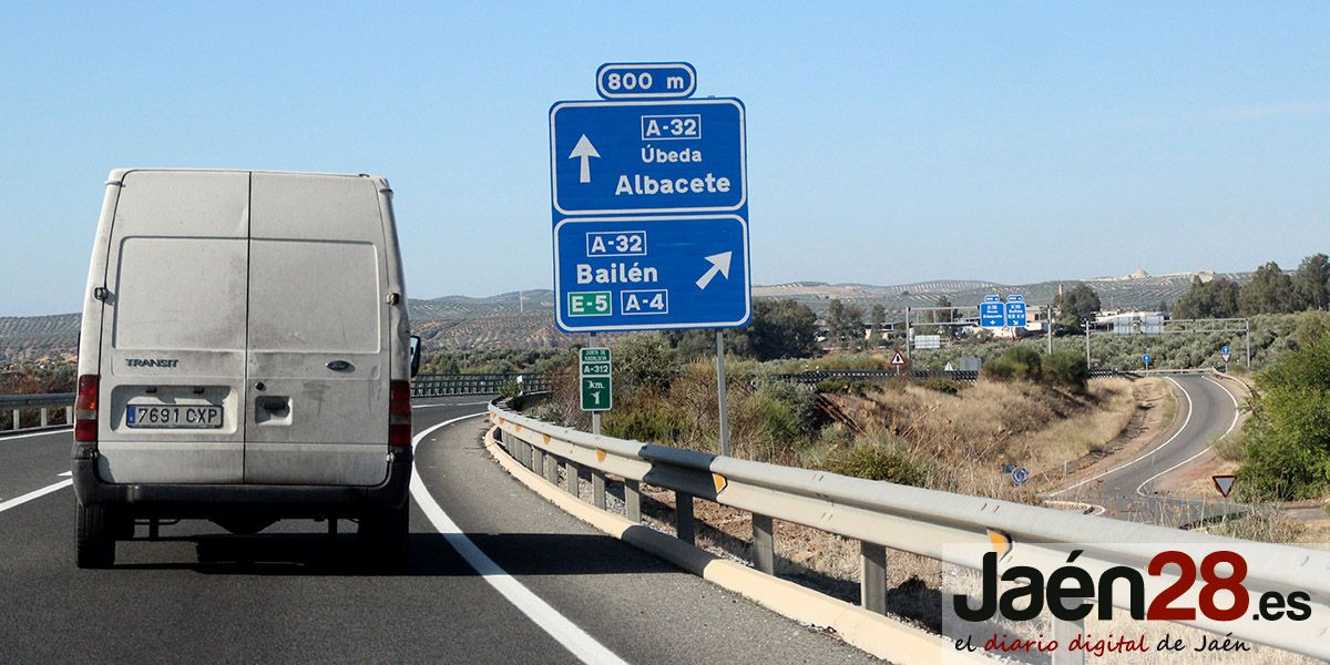 La Junta adjudica las obras de conexión de la Autovía del Olivar con la A-32 en Baeza