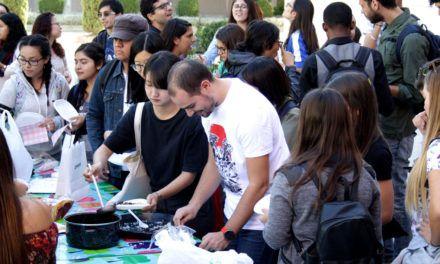 Fiesta en la Universidad de Jaén, en el Día de Brasil