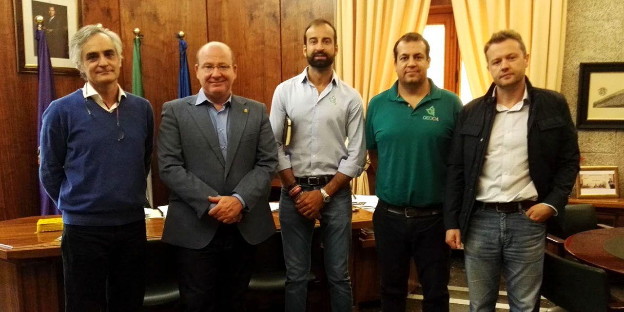 El alcalde se interesa por el proyecto Smart City para desarrollarlo en la ciudad de Jaén