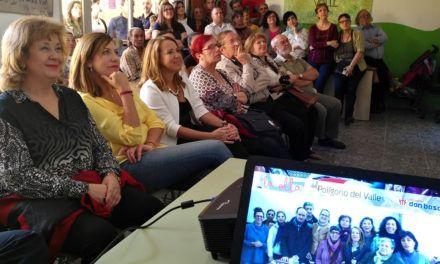 Teresa Vega visita las nuevas instalaciones de la ' Cocina Familiar Comunitaria Jaén' de la Fundación Proyecto Don Bosco