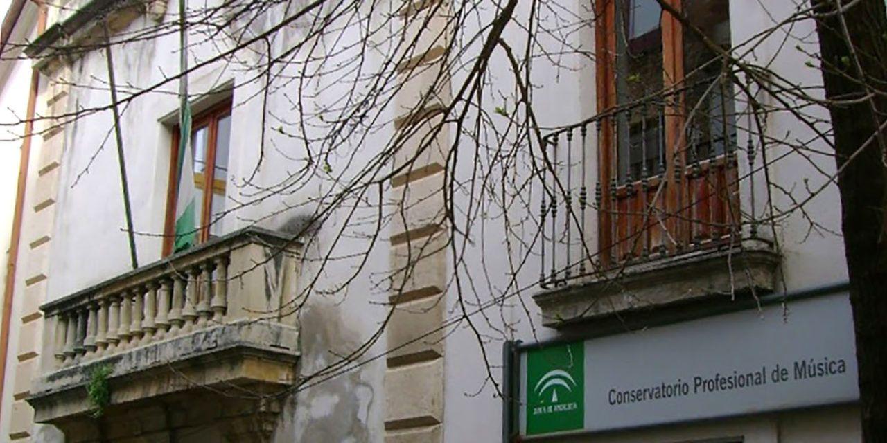 Educación adjudica el proyecto para las obras de repaación de patologías en el Conservatorio Ramón Garay de Jaén