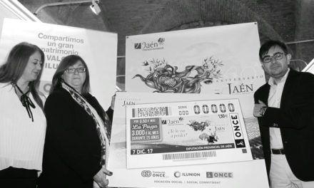 El paraíso interior jiennense se promocionará en toda España través de más de 5,5 millones de cupones de la ONCE