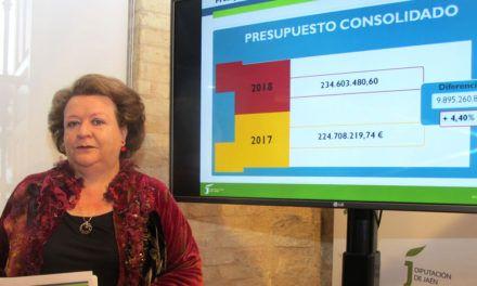 Presentados los Presupuestos de la Diputación de Jaén para 2018