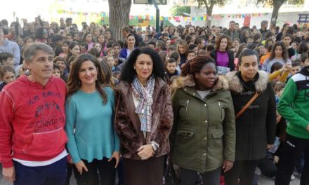Actividades por el Día Internacional de la NO violencia contra la mujer en el CEIP ´Antonio Prieto´ de Jaén