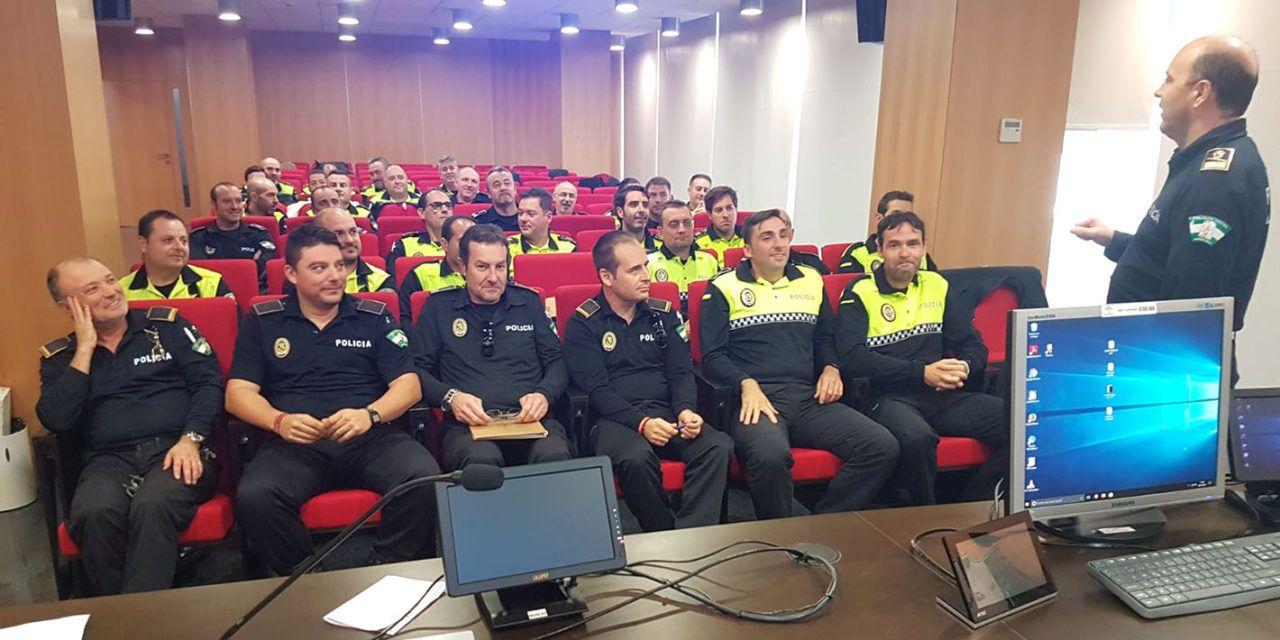 Policías Locales de Jaén se forman en detección de consumo de alcohol y drogas en conductores de vehículos