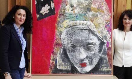 El cuadro 'Dama en piedra. Son todas las madres' se queda en Jaén