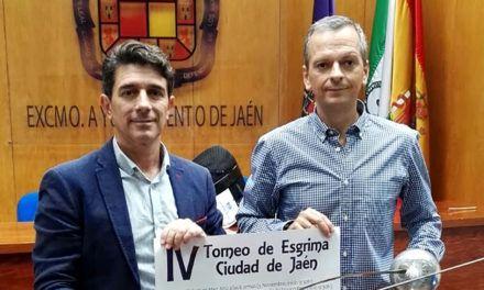 Más de 200 esgrimistas en el IV Torneo de Esgrima 'Ciudad de Jaén'