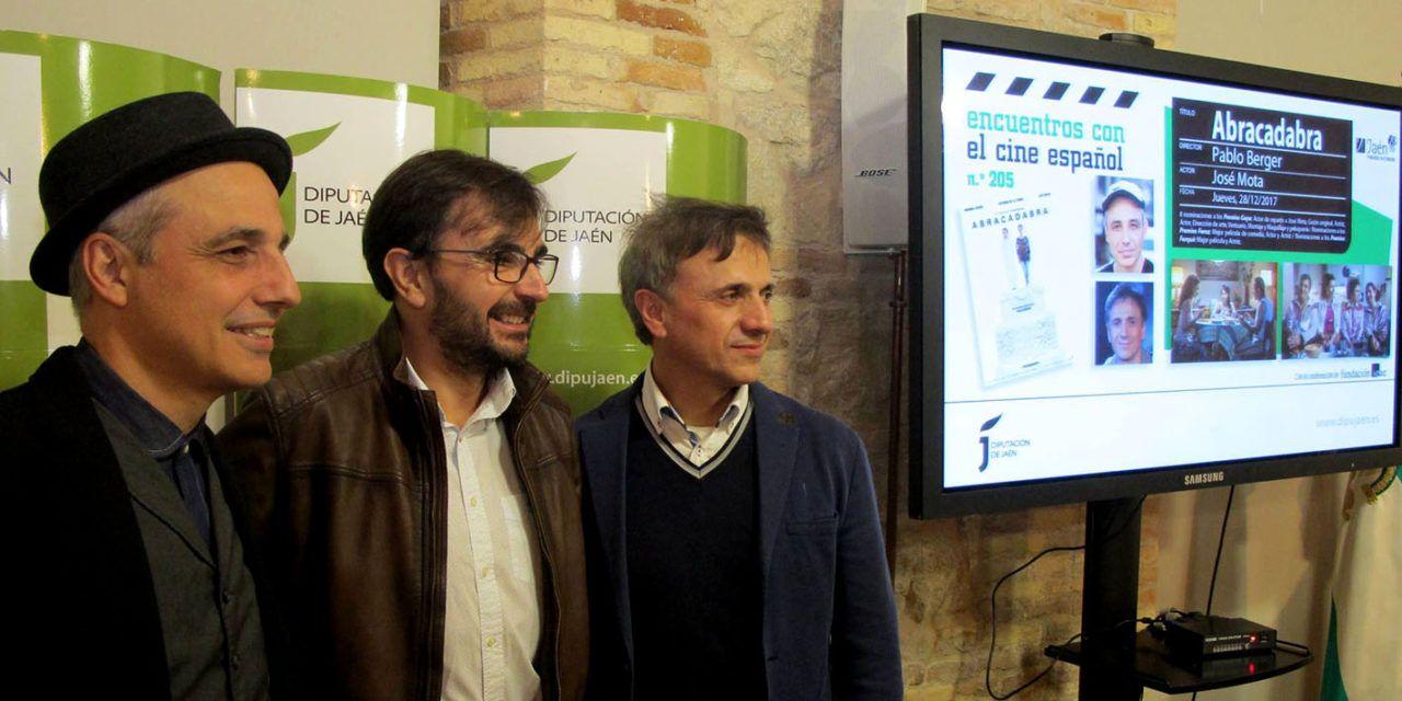 """Los Encuentros con el Cine Español de Diputación traen a Jaén a Pablo Berger y José Mota con su película """"Abracadabra"""""""