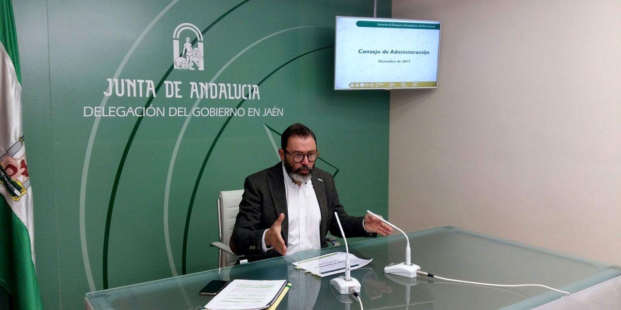 La Junta asume el 90% del coste de las aportaciones de entidades al Consorcio de Transporte Metropolitano de Jaén