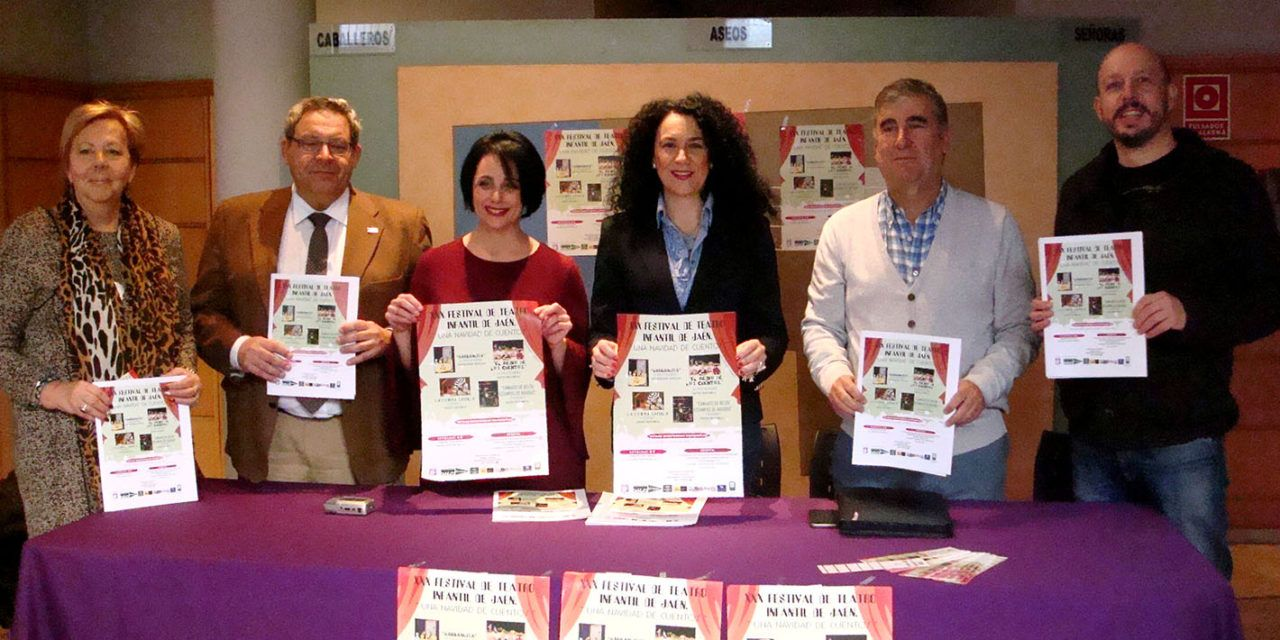 El XXX Festival de Teatro Infantil de Jaén 'Una Navidad de Cuentos' una alternativa para disfrutar en familia
