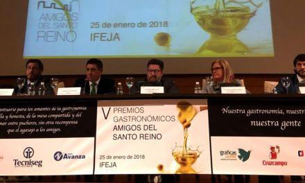 La Asociación Amigos del Santo Reino premia a restaurantes y cocineros jiennenses que destacan por su calidad