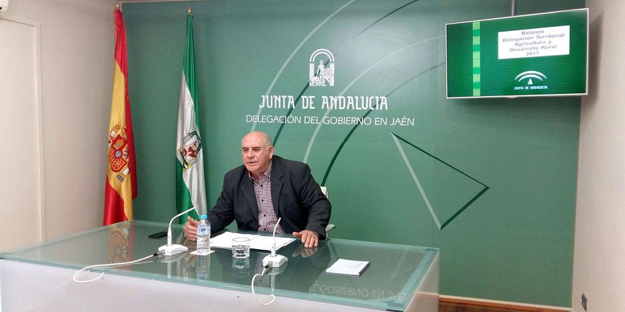 La Junta ha abonado ya 315 millones de euros de la PAC atendiendo al 95 % de los beneficiarios de la provincia de Jaén
