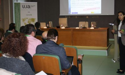 Marina Martínez, delegada del CDTI en Bruselas imparte una charla-taller sobre ciberseguridad a nivel europeo para investigadores de la Universidad de Jaén