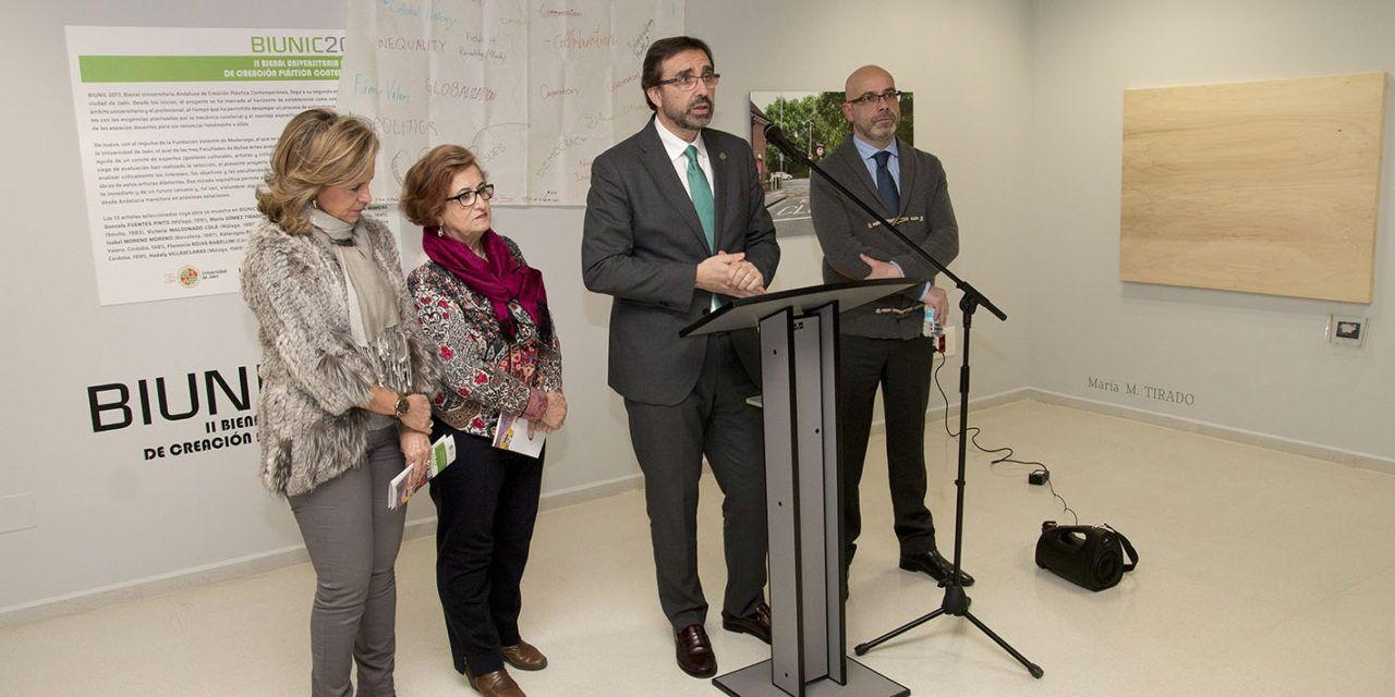 """La UJA inaugura la exposición """"BIUNIC 2017"""""""