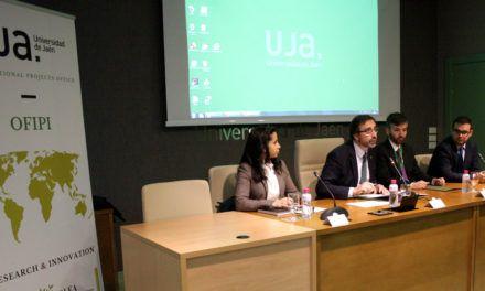 """El Rector de la UJA destaca el """"enorme potencial"""" del sector del aceite de oliva, durante un encuentro internacional para fomentar proyectos internacionales de investigación"""