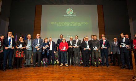 El Rector destaca la aportación con su trabajo del personal de la Universidad de Jaén a lo largo de sus 25 años