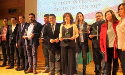 Diputación entrega los IV Premios Degusta Jaén a empresas agroalimentarias de Andújar, Frailes, Baeza, Chilluévar y Jaén
