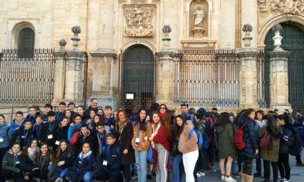 500 escolares de 18 puntos de España e Irlanda visitan Jaén