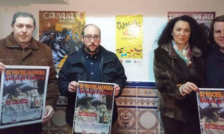 Llega la XI Noche Jaenera dedicada al carnaval de Jaén
