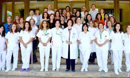 El Complejo Hospitalario de Jaén ha renovado el distintivo de'Centro contra el Dolor'