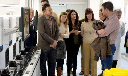 Parlamentarios jiennenses visitan distintas dependencias del Complejo Hospitalario de Jaén