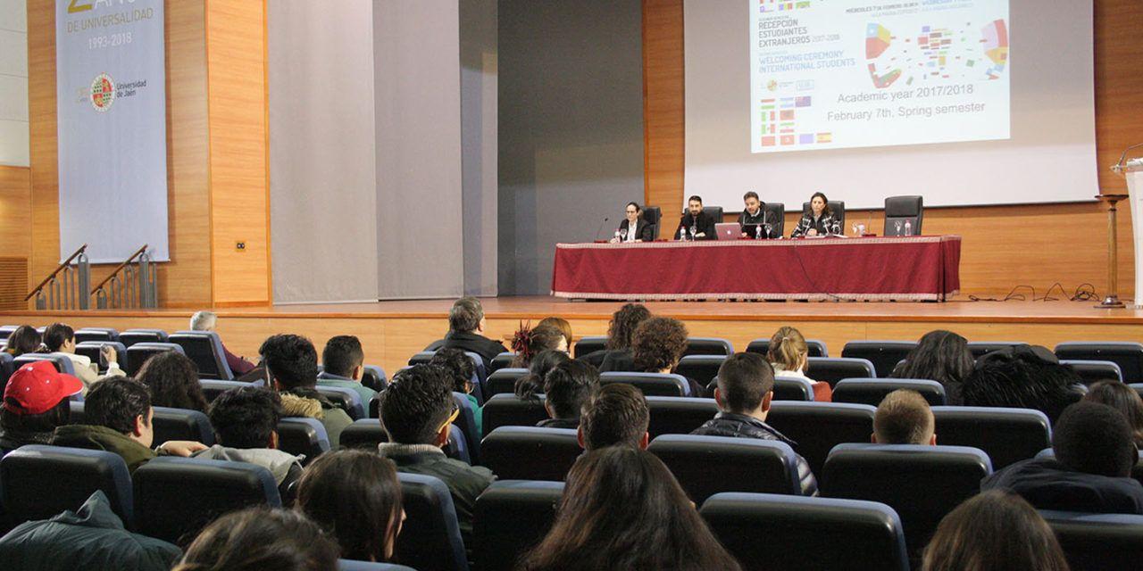 La Universidad de Jaén recibe a sus estudiantes internacionales del segundo semestre