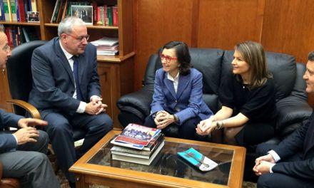 Rosa Aguilar solicita al alcalde de Jaén una parcela diáfana para la construcción de la Ciudad de la Justicia