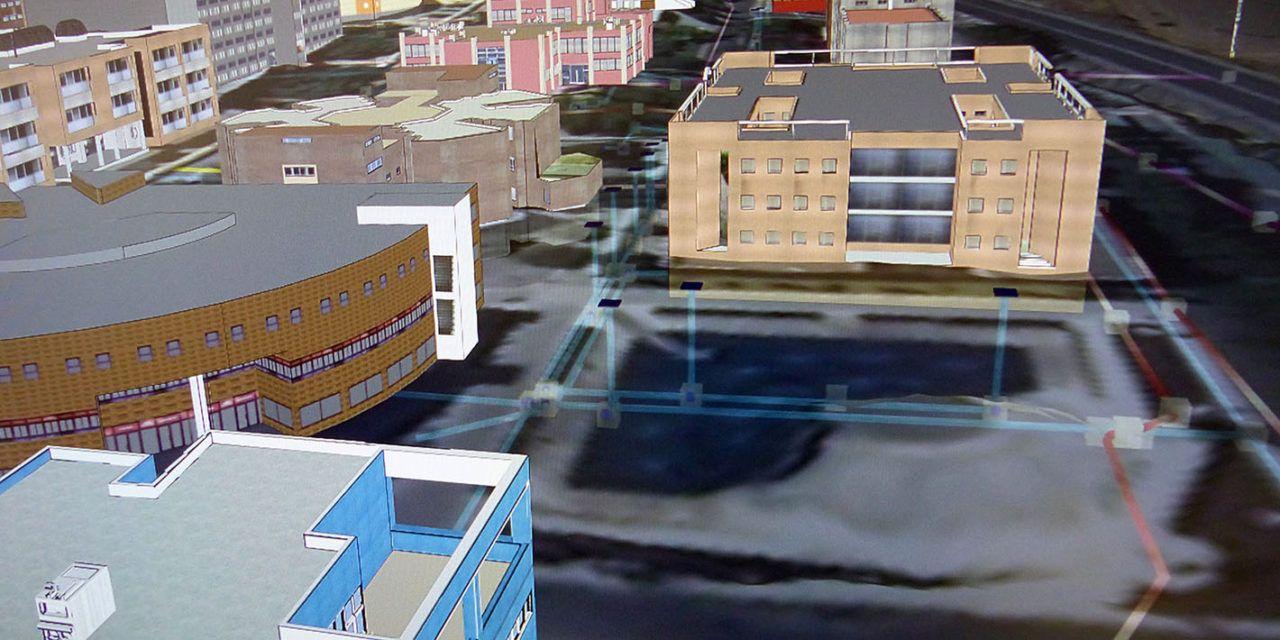 Investigadores de la Universidad de Jaén diseñan un modelo de Sistema de Información Geográfica en 3D para poder 'explorar' lo que hay debajo del suelo