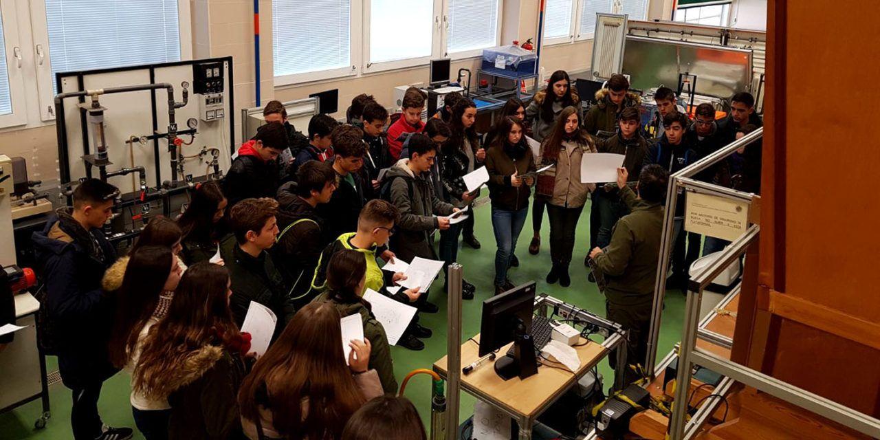 Más de 60 IES de la provincia visitarán la EPS de Jaén este curso dentro de la VI edición del Programa 'Conoce la Ingeniería'