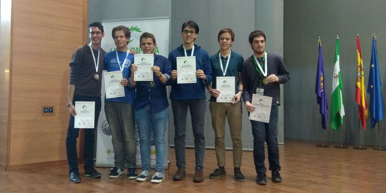 Clausura y entrega de medallas de la LIV Olimpiada Matemática Española en la Universidad de Jaén