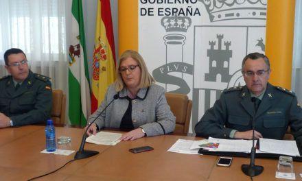 La Guardia Civil recupera el 62% de la aceituna sustraída durante la campaña 2017 -2018