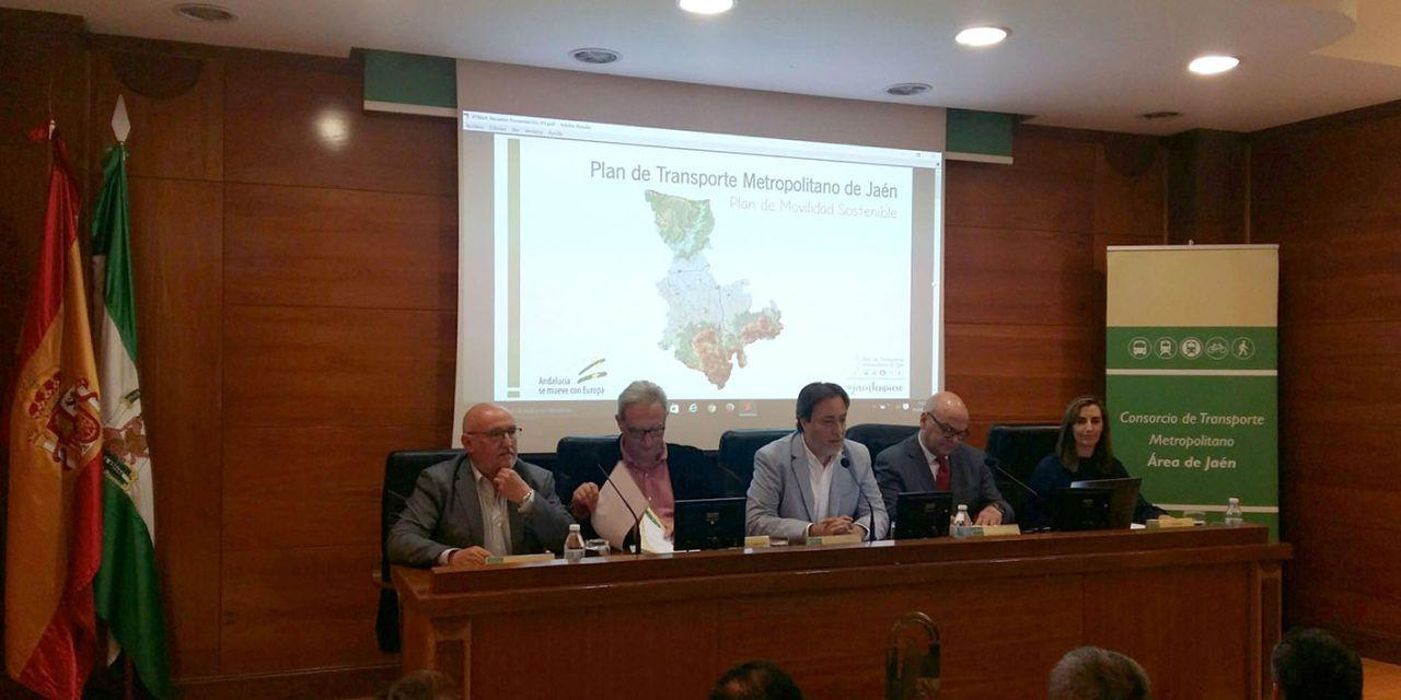 La Junta informa a una treintena de municipios sobre el nuevo Plan de Transporte Metropolitano de Jaén