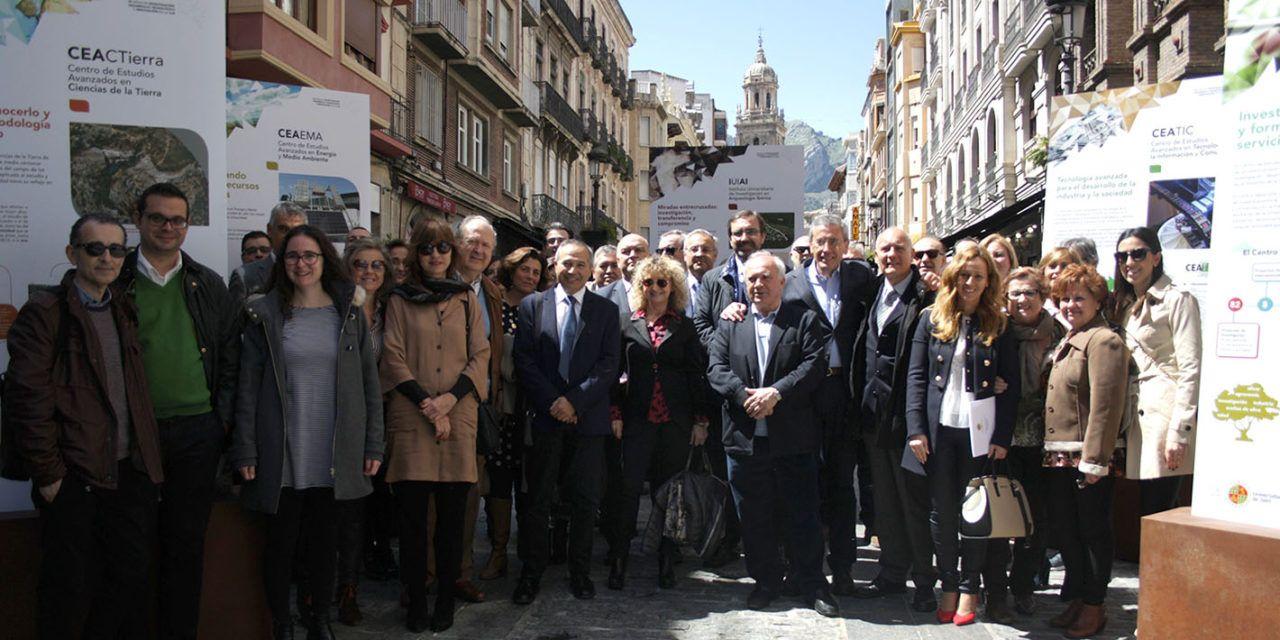La Universidad de Jaén muestra en una exposición la evolución de su investigación a lo largo de sus 25 años de historia