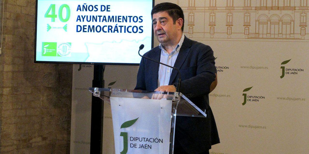 Diputación programa más de un centenar de actividades para conmemorar los 40 años de ayuntamientos democráticos