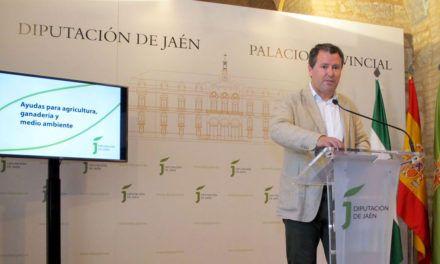 Diputación convoca ayudas en materia de agricultura, ganadería y medio ambiente por más de un millón de euros